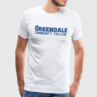 Greendale Community Colllege - Mannen Premium T-shirt