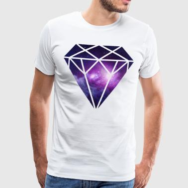 Diamant Diamond - Premium T-skjorte for menn