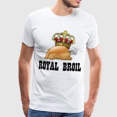 Royal Broil King Queen Roast Chicken Gift - Men's Premium T-Shirt