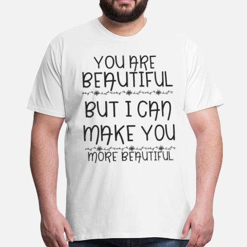 52ad202c40d12 beau T-shirt premium Homme   Spreadshirt