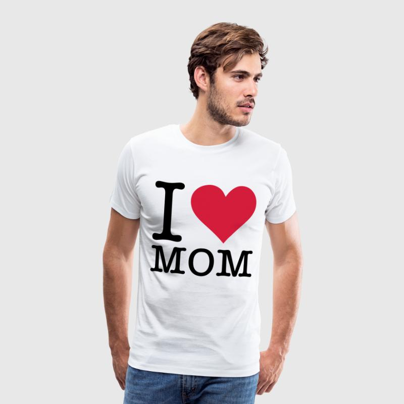 I love my mum! - Men's Premium T-Shirt