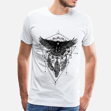 Crow AD Crow - Men's Premium T-Shirt