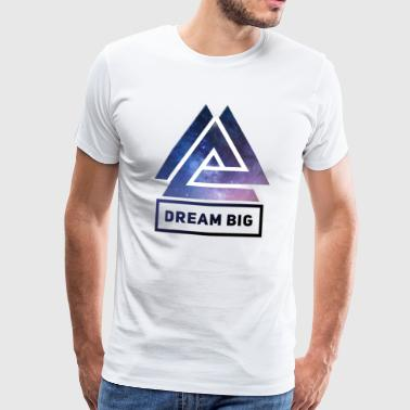 Peng Drøm Big Motivation Succes Tøj MK Motivation - Herre premium T-shirt