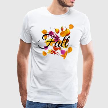 Nuttede Fall Style - Herre premium T-shirt