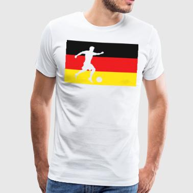 Soccer Germany Soccer Fan Gift - Men's Premium T-Shirt