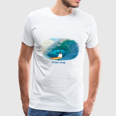 Yoga surf - Men's Premium T-Shirt