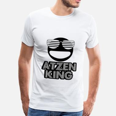 Atzen Atzen King Smiley - Männer Premium T-Shirt