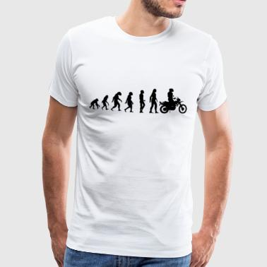 Evolution Moto - T-shirt Premium Homme