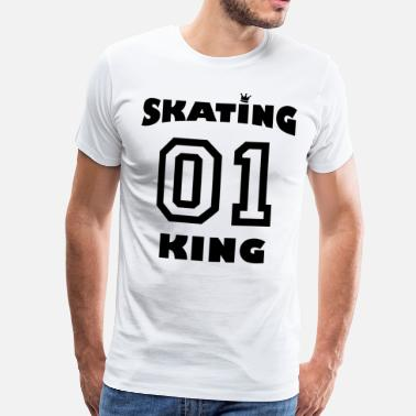 Skating King 01 - Men's Premium T-Shirt