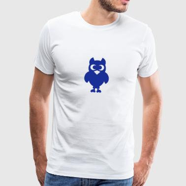 Cute Owl - Men's Premium T-Shirt