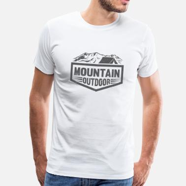 Outdoor Mountain Outdoor - T-shirt Premium Homme