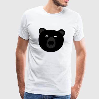 black bear Artboard 1 - Men's Premium T-Shirt