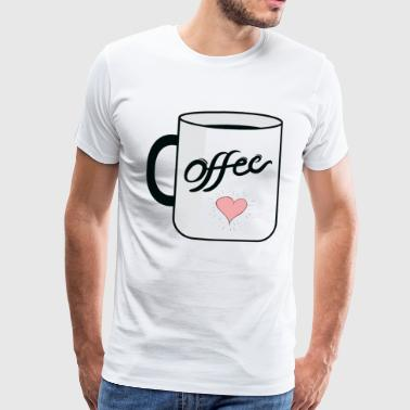Coffee Morning Get Up Morning Monday Work - T-shirt Premium Homme