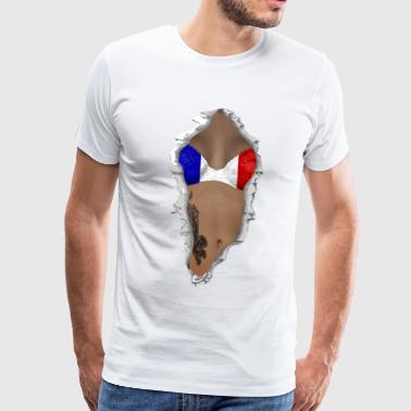 Flag Sexy sexy flag france - Men's Premium T-Shirt