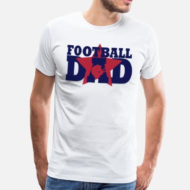 Fotboll Football Dad - Men's Premium T-Shirt
