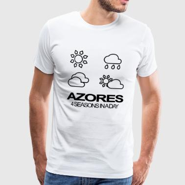 Azores 4 Seasons in a day - Männer Premium T-Shirt