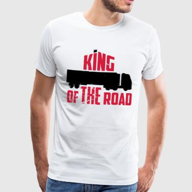 king of the road - Koszulka męska Premium