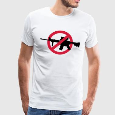 No guns no war - Mannen Premium T-shirt
