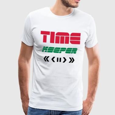 TIME KEEPER - TIME TRAVELER REMOTE - TIME TRAVEL - Men's Premium T-Shirt