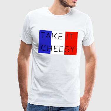Take it cheesy - Men's Premium T-Shirt