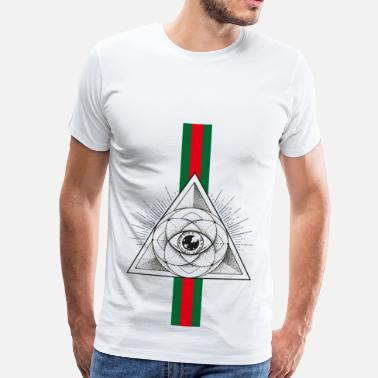 Pyramid Eye Pyramid Eye - Men's Premium T-Shirt