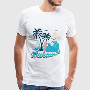 Bahamas Bahamas holiday sun beach - Men's Premium T-Shirt