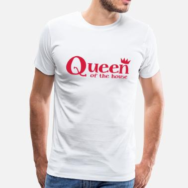 Little Queen queen of the house with a little crown - Men's Premium T-Shirt