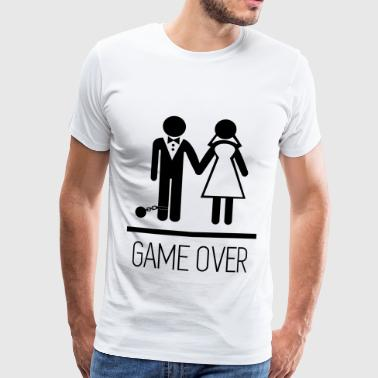 Game over - Stag do - Hen party - Funny - Männer Premium T-Shirt