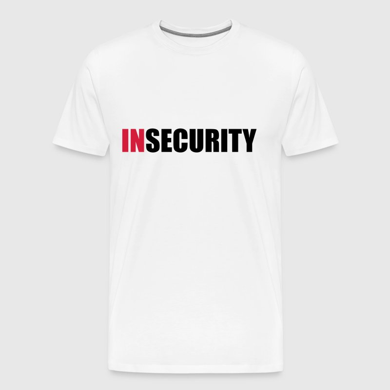 INsecurity - Herre premium T-shirt