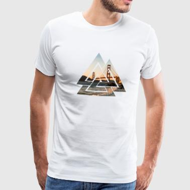Golden Gate Bridge - Männer Premium T-Shirt