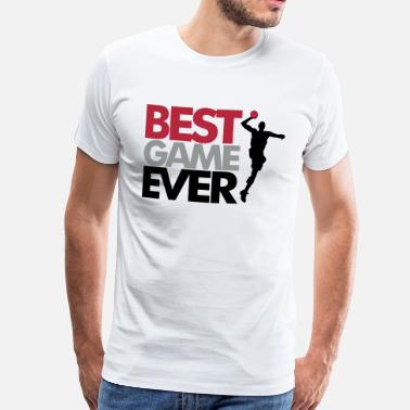 Handball Game Best game ever - handball - Men's Premium T-Shirt