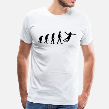 Quotation Handball Evolution Handball - Men's Premium T-Shirt