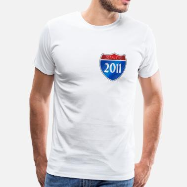 2011 Since 2011 - Men's Premium T-Shirt