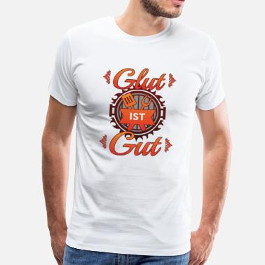 Glut Food Shirt • Ember is Good • Grill Gift - Men's Premium T-Shirt