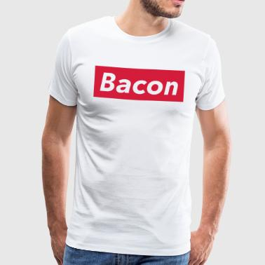 Bacon Shirt, Lustiges Street Food T-Shirt - Premium-T-shirt herr