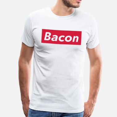 Fast Food Bacon Shirt, Lustiges Street Food T-Shirt - Miesten premium t-paita