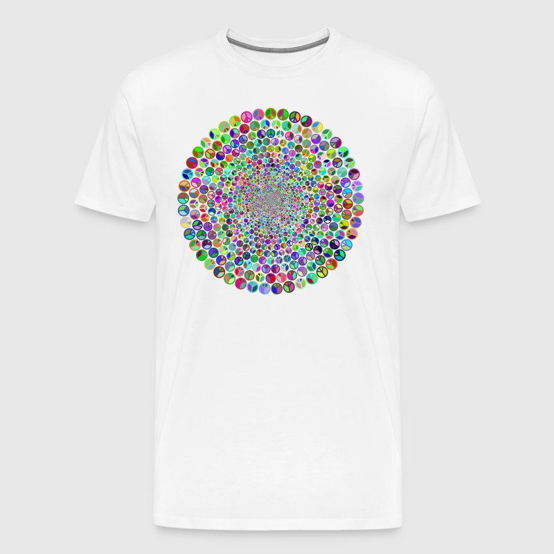 Peace Mandala - Men's Premium T-Shirt