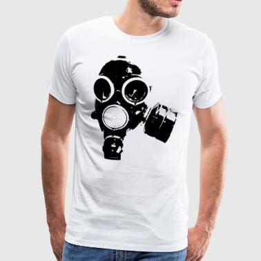GAS MASK / ROCK N ROLL T-SHIRT - Men's Premium T-Shirt