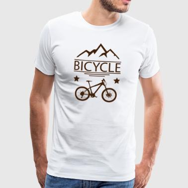 Bike Mountain Bike Bike Downhill Fietsen - Mannen Premium T-shirt