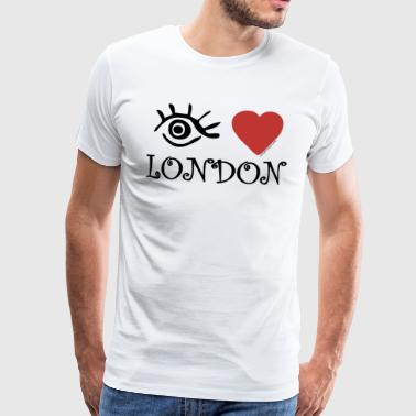Eye-love Eye-Love 'London' - Mannen Premium T-shirt