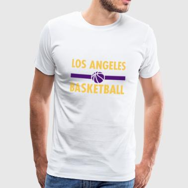Los Angeles Basketball - Basketball statement - Männer Premium T-Shirt