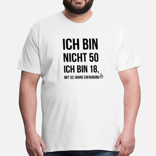 50 Geburtstag Geschenk Geburtstagsgeschenk Lustig Manner Premium T