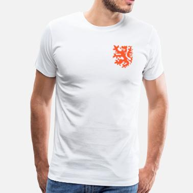 Replica Orange lion Replica Holland 1974 - Men's Premium T-Shirt