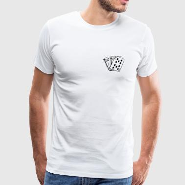 Royal Flush - Männer Premium T-Shirt