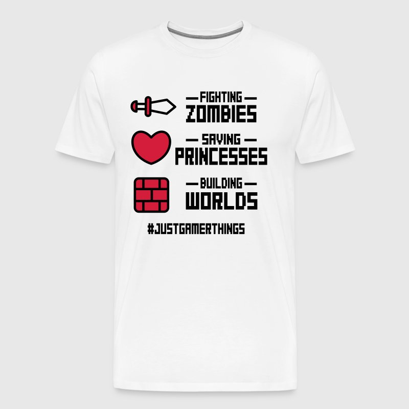 just gamer things - Men's Premium T-Shirt