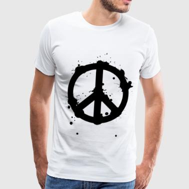 Peace sign - peace symbol - Men's Premium T-Shirt