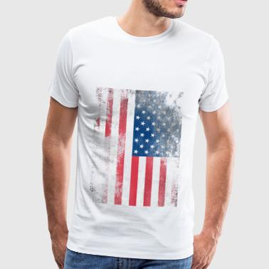 1979 USA FLAG - Herre premium T-shirt