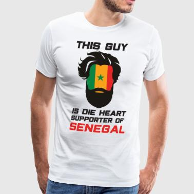 Senegal Football Gift Fan World Cup - Camiseta premium hombre