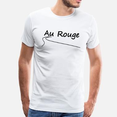 Spa Au Rouge - Men's Premium T-Shirt