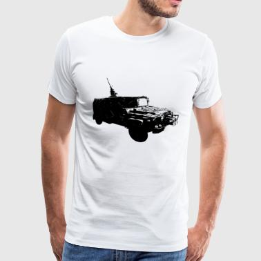 KSK Serval Vehicle T-Shirt Command Special Forces - Camiseta premium hombre
